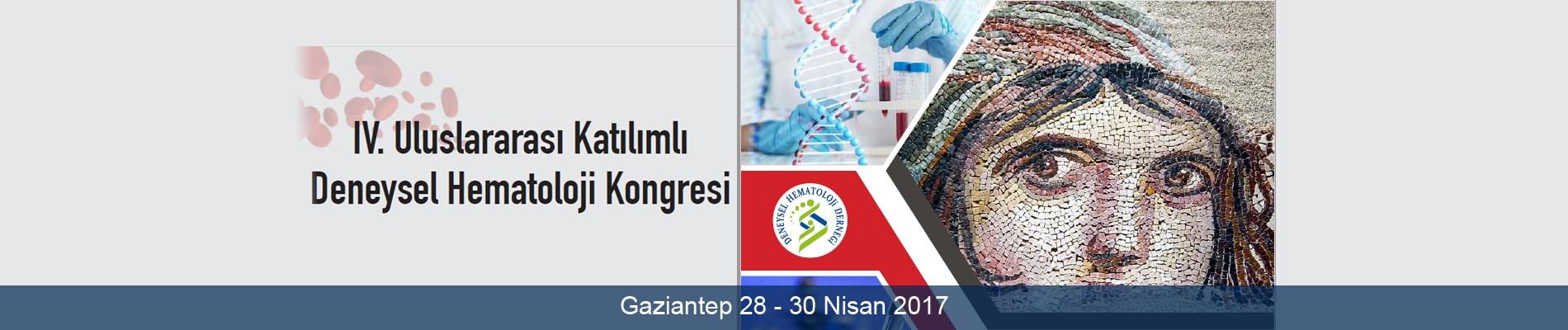 Deneysel Hematoloji Kongresi