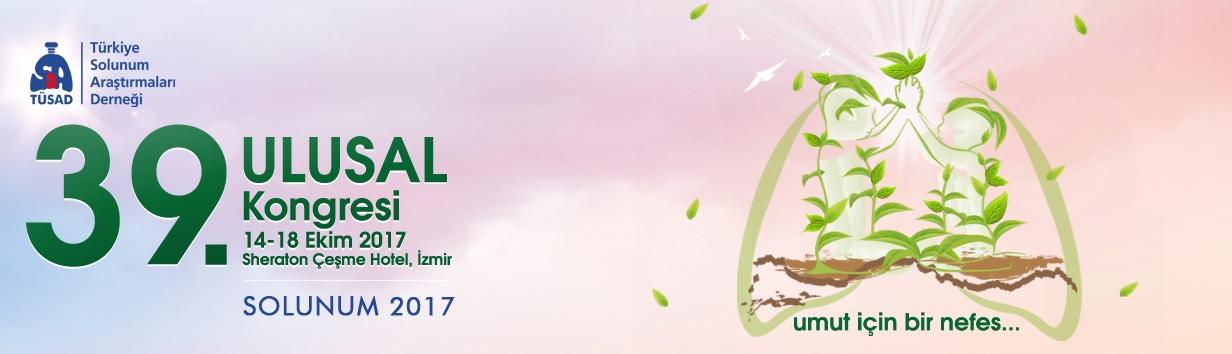 TÜSAD 39. Ulusal Kongresi - SOLUNUM 2017