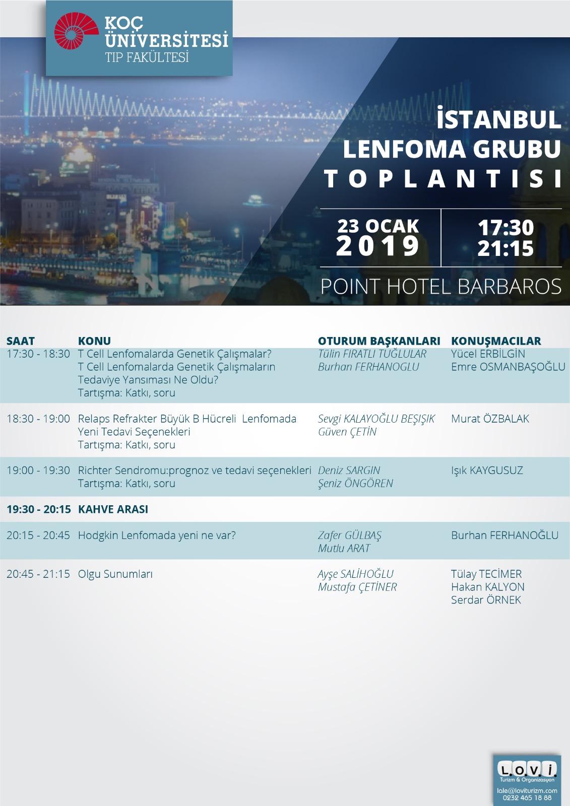 İstanbul Lenfoma Toplantısı