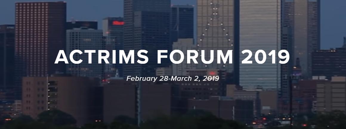 ACTRIMS Forum 2019