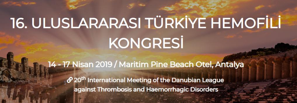 16. Uluslararası Türkiye Hemofili Kongresi