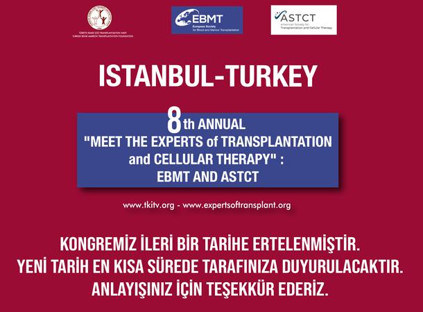 (ERTELENDİ) 8th Annual EBMT and ASBMT/TCT