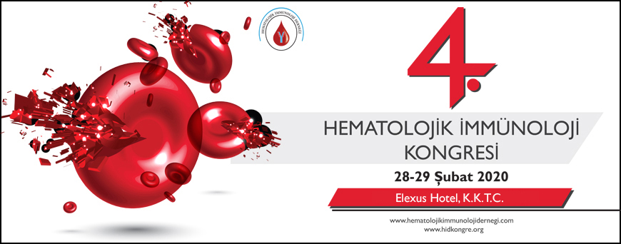 4. Hematolojik İmmünoloji Kongresi