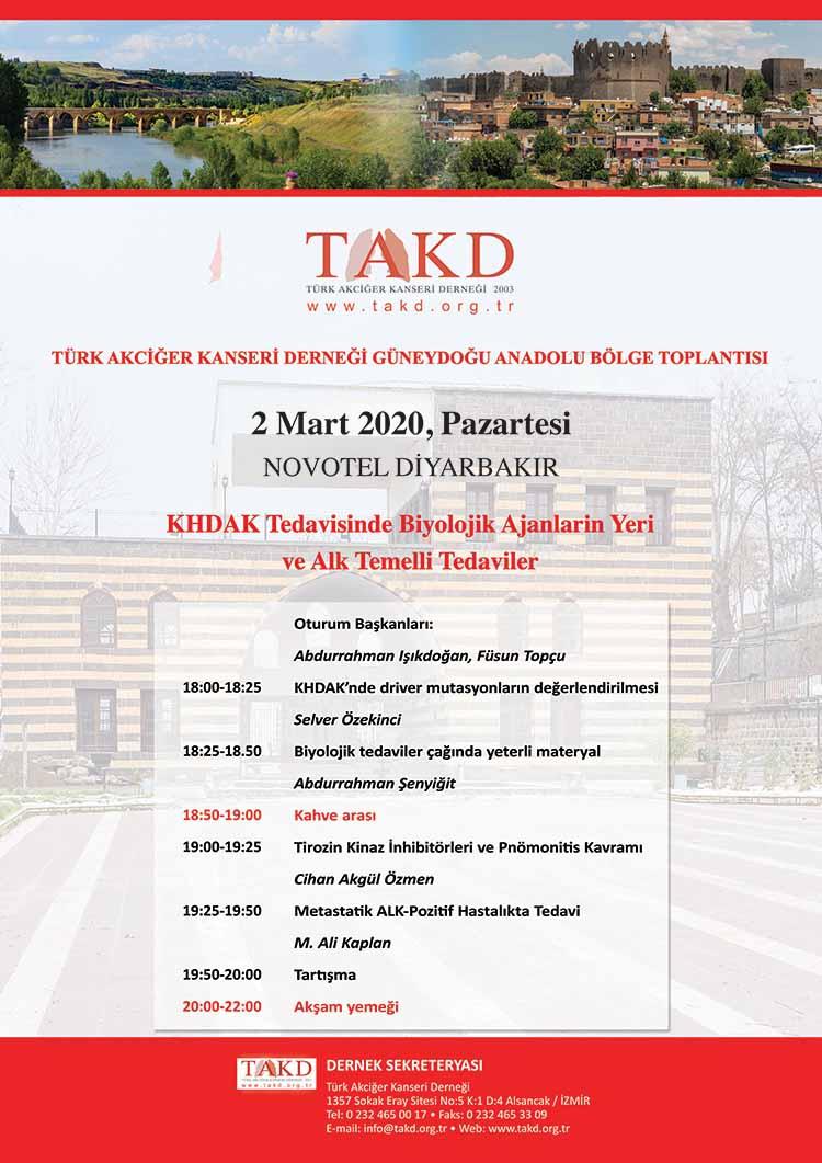 Türk Akciğer Kanseri Derneği Güneydoğu Anadolu Bölge Toplantısı