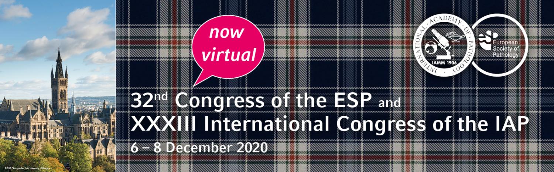 (VIRTUAL) 32nd ESP Congress & XXXIII IAP Congress 2020