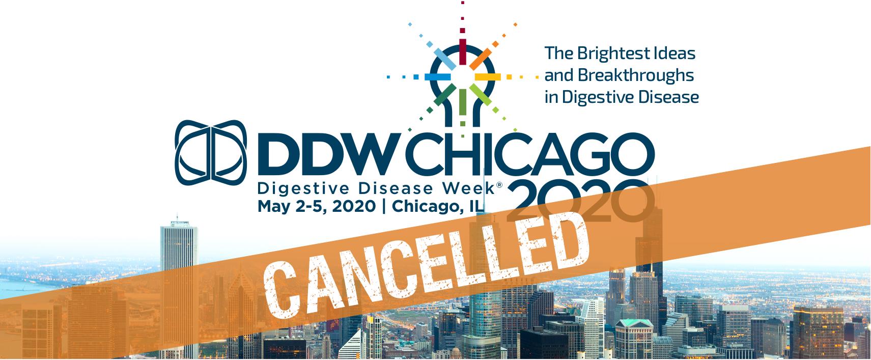 (İPTAL EDİLDİ) Digestive Disease Week 2020