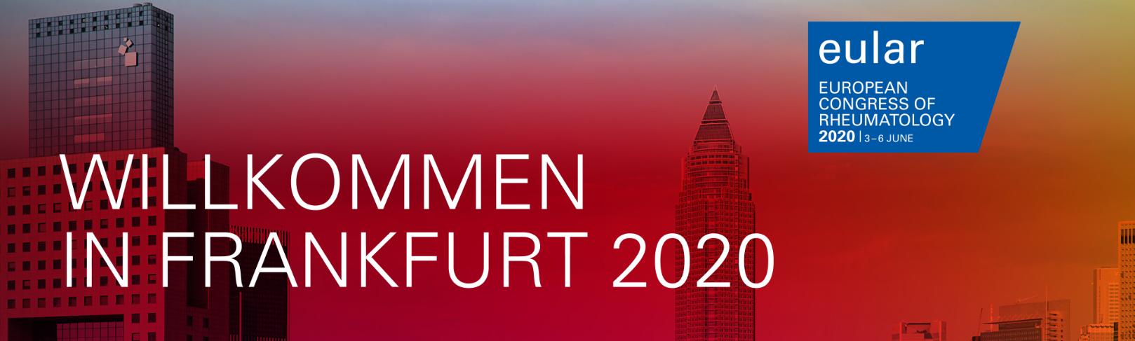 (Virtual) Annual European Congress of Rheumatology  (EULAR 2020)