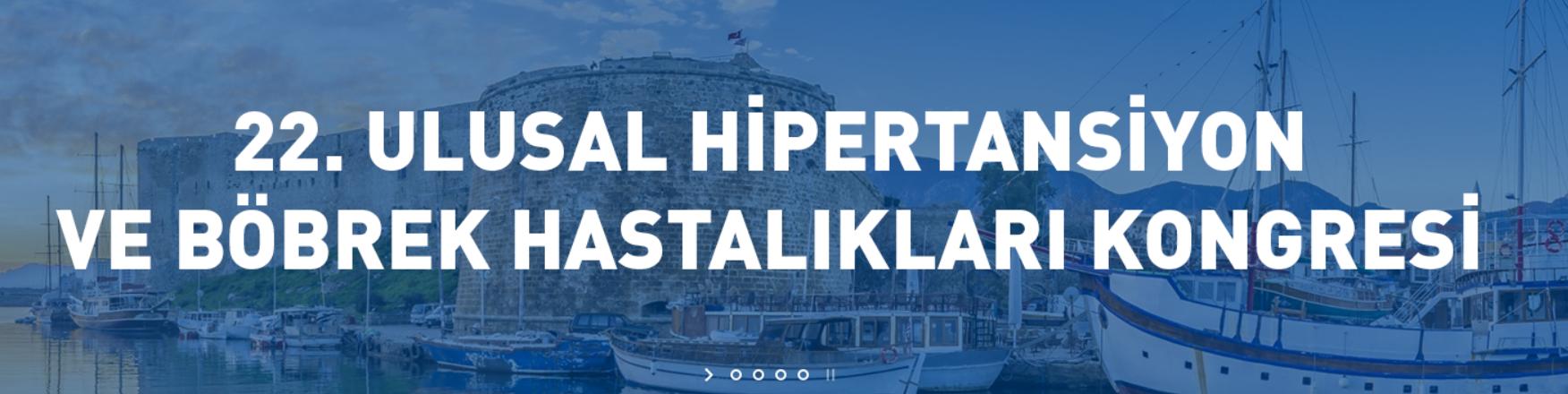 (VIRTUAL) 22. Ulusal Hipertansiyon ve Böbrek Hastalıkları Kongresi