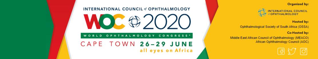 World Ophthalmology Congress (WOC) 2020