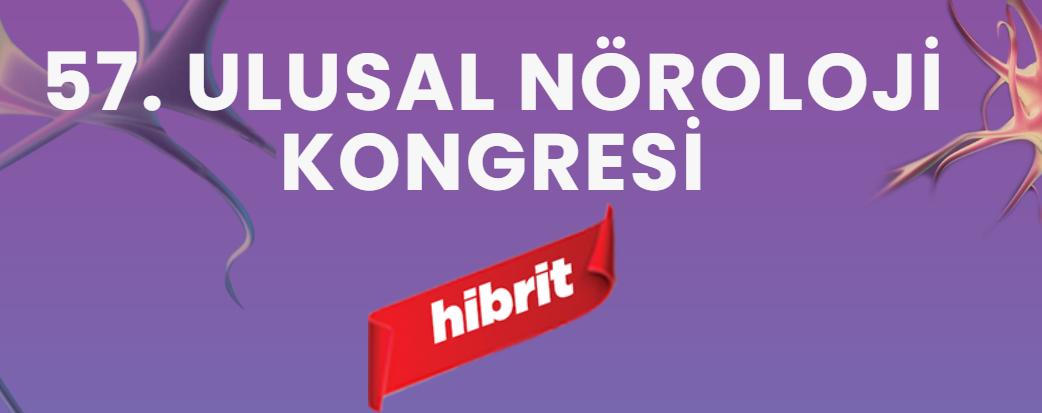 (HİBRİT) 57. Ulusal Nöroloji Kongresi