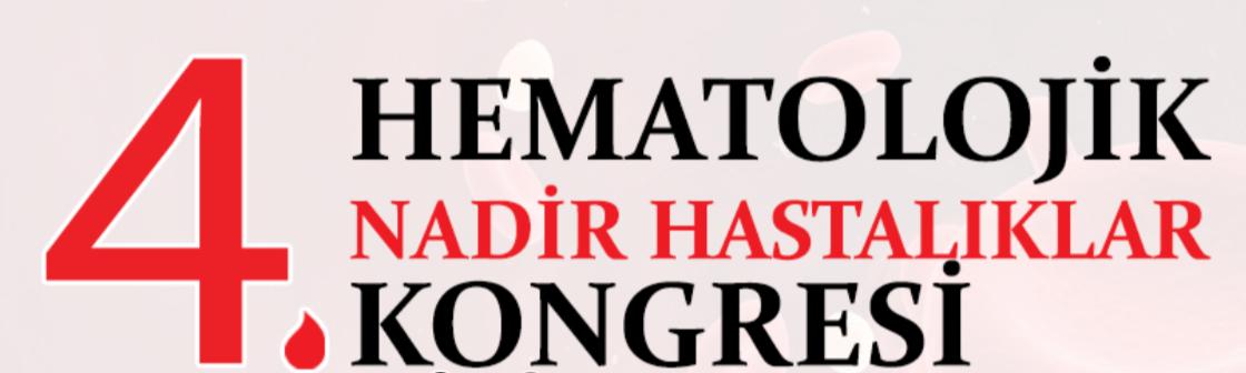(VIRTUAL) 4. Hematolojik Nadir Hastalıklar Kongresi