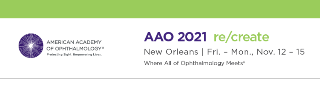 (HİBRİT) The American Academy of Ophthalmology (AAO) 2021