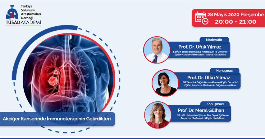 (VIRTUAL) Akciğer Kanserinde İmmünoterapinin Getirdikleri