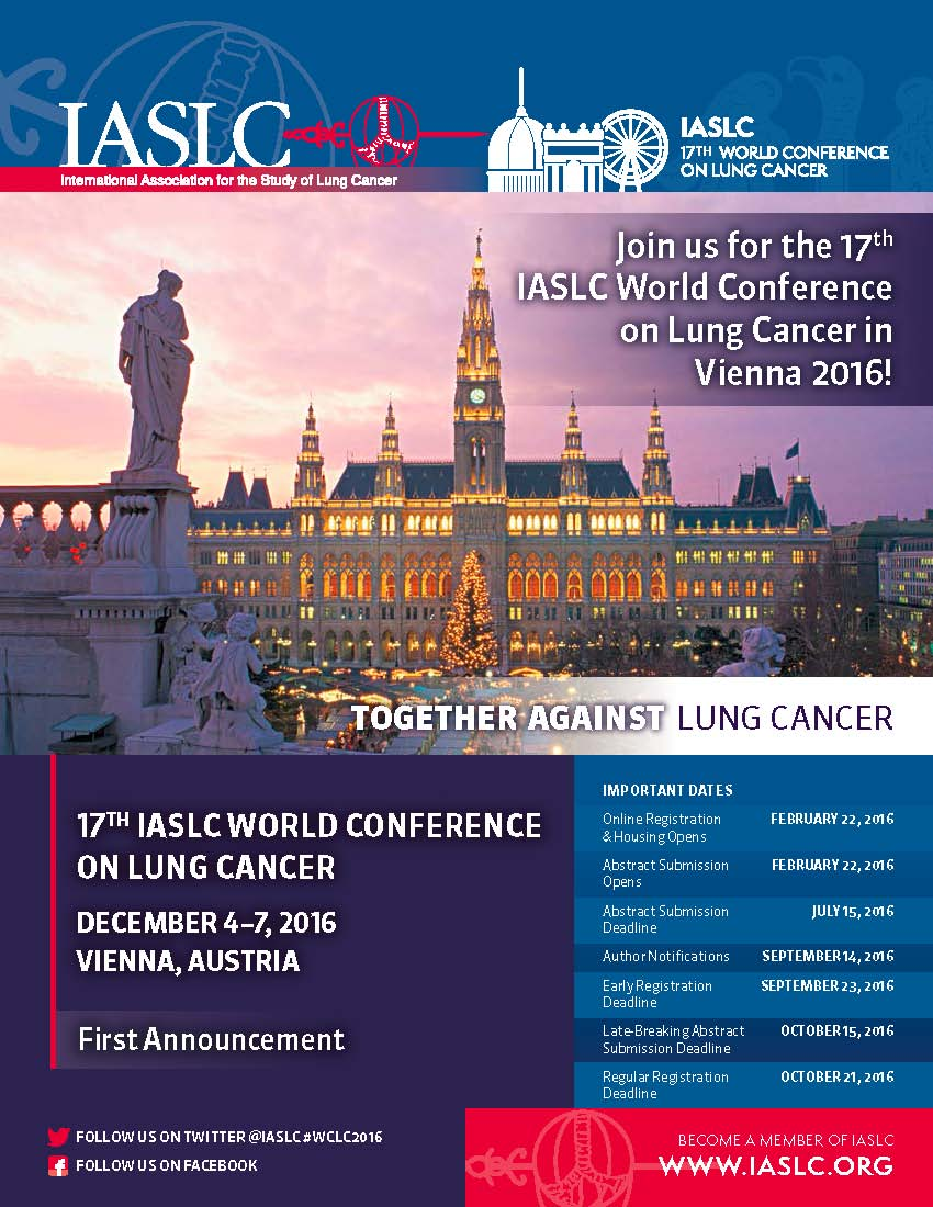 17th World Conference on Lung Cancer