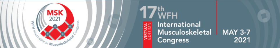 (VIRTUAL) WFH International Musculoskeletal Congress 2021