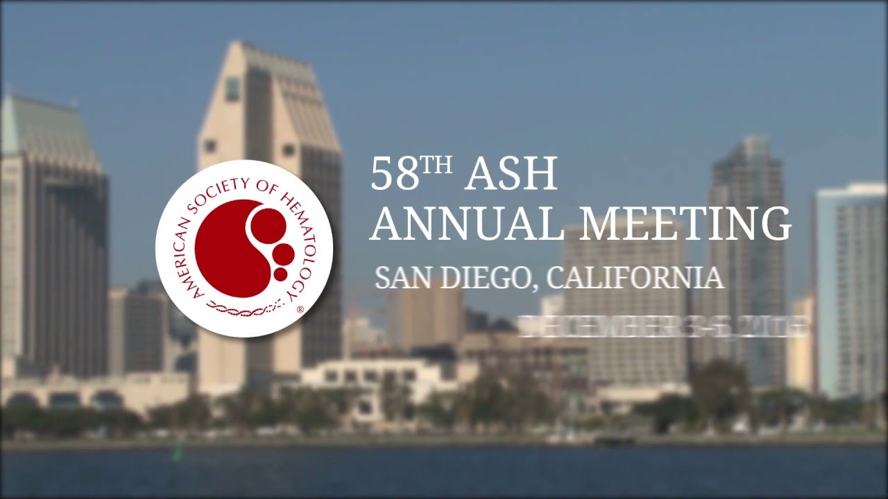 58th American Society of Hematology Annual Meeting