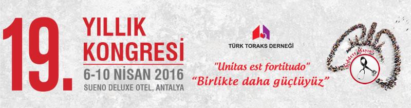 Türk Toraks Derneği 19. Yıllık Kongresi