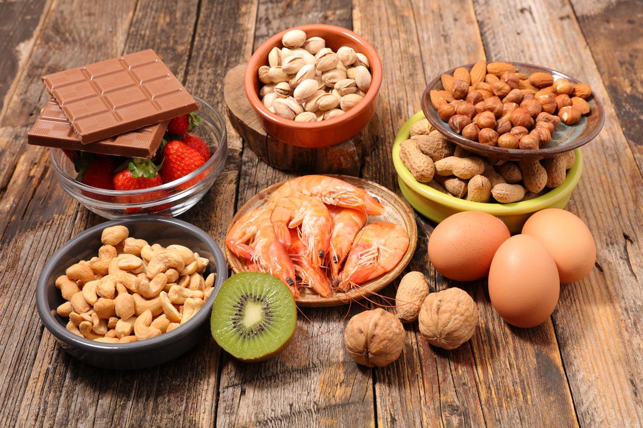 Bir çocuğa gıda alerjileri: ne yapmalı