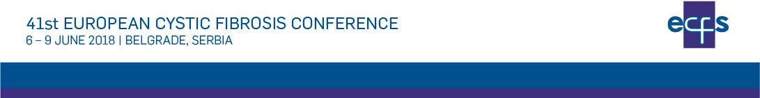 41`st European Cystic Fibrosis Conference 2018