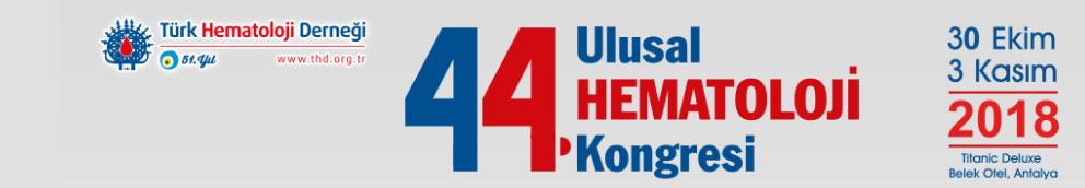 44. Ulusal Hematoloji Kongresi