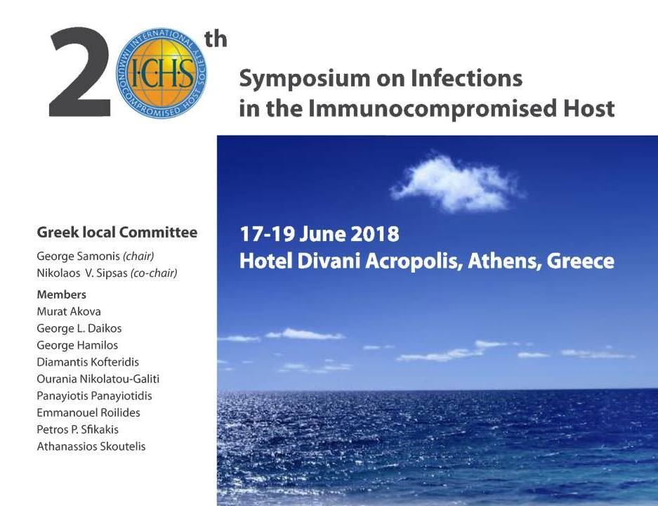 Congress of International Immunocompromised Host Society 2018