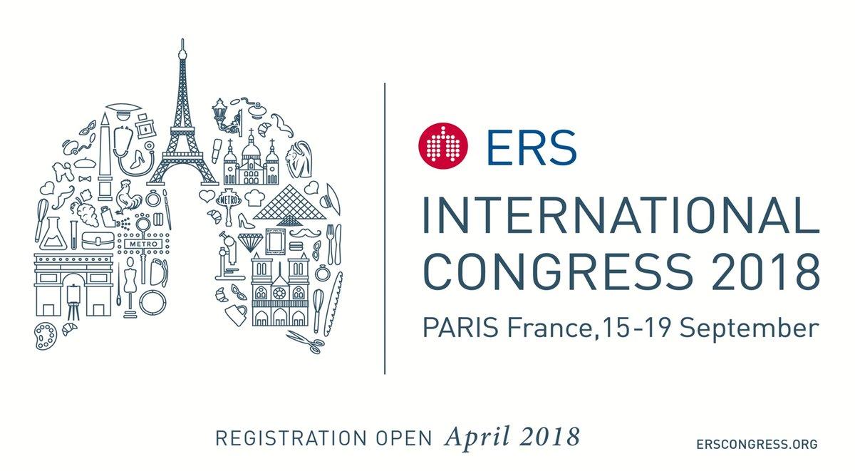 European Respiratory Society 2018