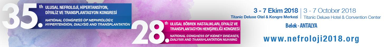 35. Ulusal Nefroloji Kongresi