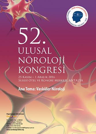 52. Ulusal Nöroloji Kongresi