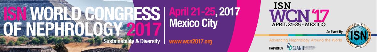 ISN World Congress of Nephrology 2017